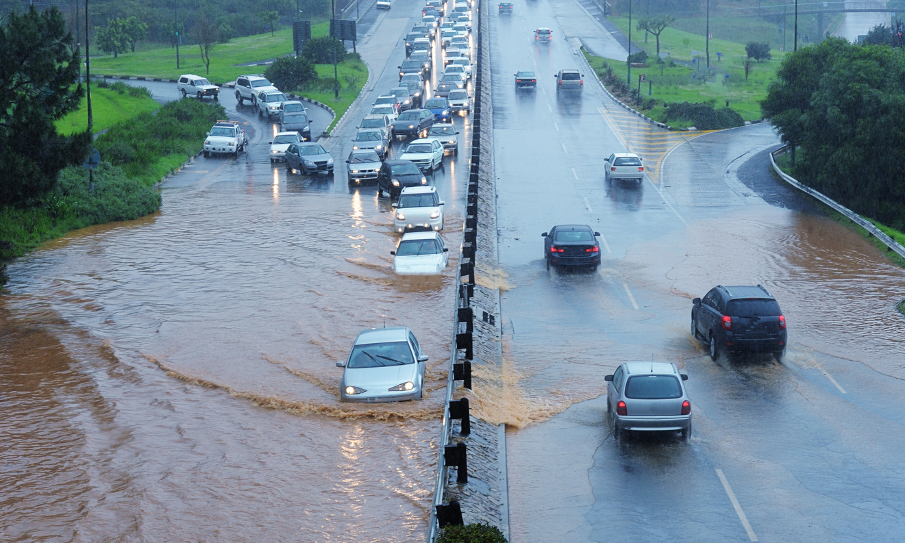 One-Quarter of the Nation's Roads in Peril Against Flooding, Report on Infrastructure Risk Says