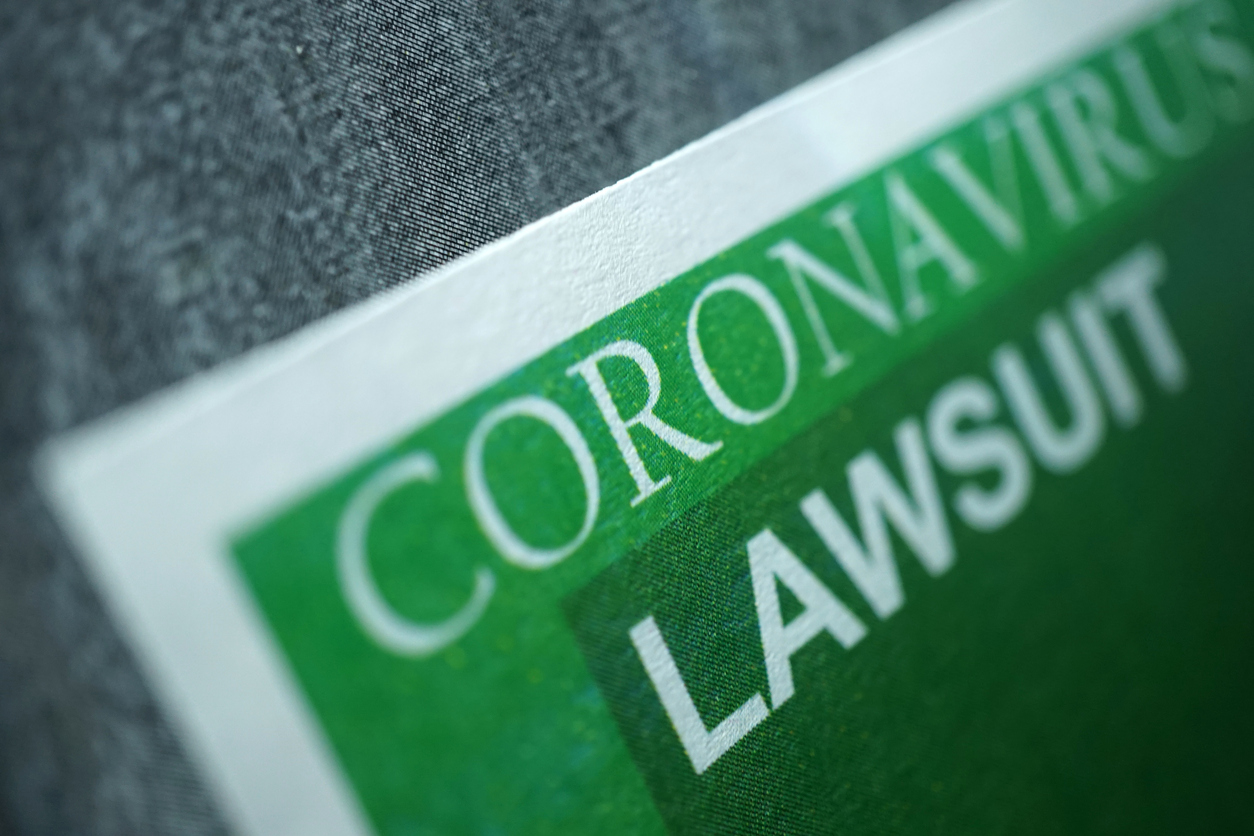 COVID-19 Lawsuits and Claims Increasing in Courts Nationwid