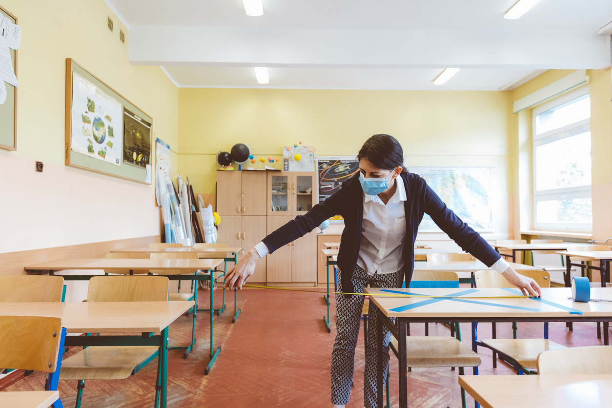 Schools Wrestle with Reopening